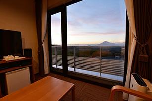 窓からの眺望は絶景