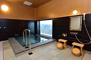富士山を望める家族風呂